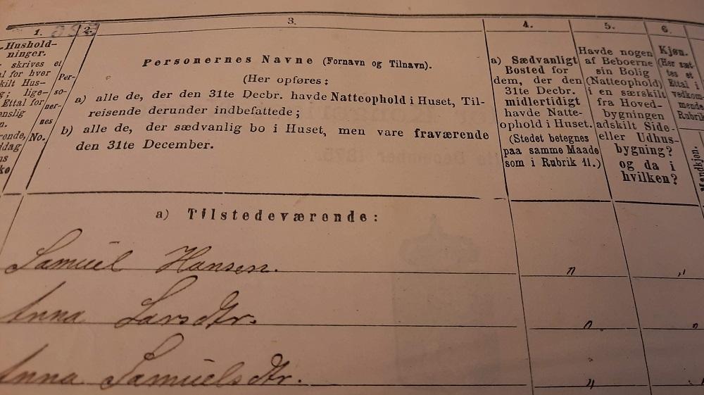 Bilde fra folketellingen 1875