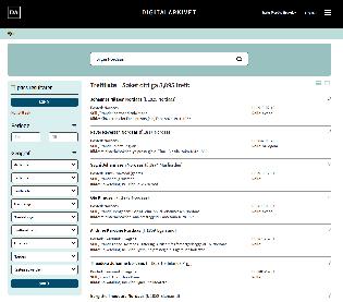 Søk etter person i Digitalarkivet