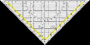 Illustrasjon som viser en linjal