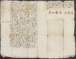 Diplom fra Stokke, dat. 25.11.1618 (RA, Riksarkivets diplomsamling, F15/L0021: Prestearkiv - Vestfold).