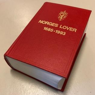 Norges lover i bokutgåave frå 1993